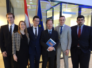 The EST with Pieter de Gooijer, the ambassador of the Dutch permanent representative at the European Union.