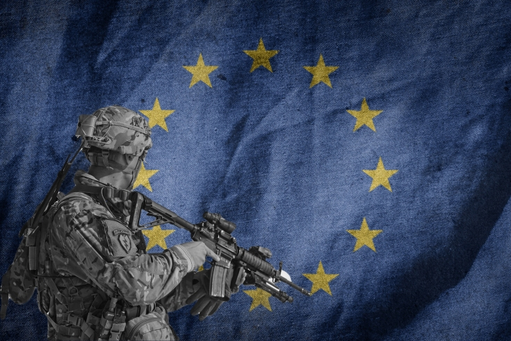 flag-Soldat Titelbild